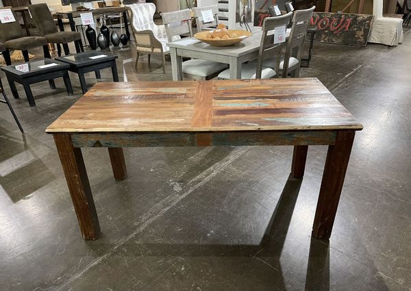 """New 60"""" Solid Hardwood Dining Table"""