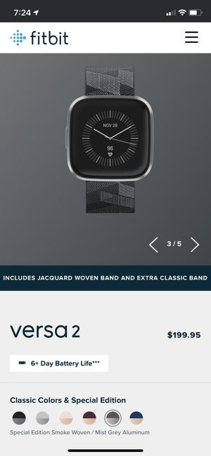 fitbit versa 2 special edition for Sale in Springfield, VA