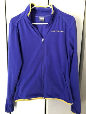 Nike livestrong fleece pull over for Sale in Wichita, KS
