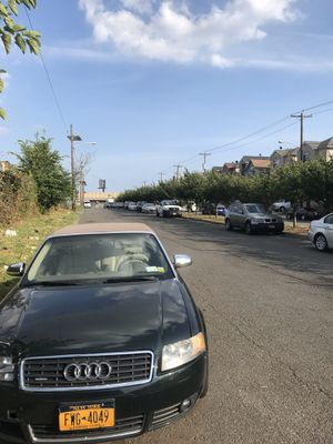 AUDI A4 QUATRO 2004 CONVERTIBLE PART OUT ASAP for Sale in Staten Island, NY