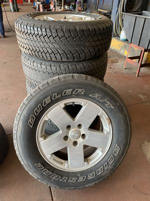 Jeep Wrangler Wheels & Tire for Sale in Vernon Hills, IL