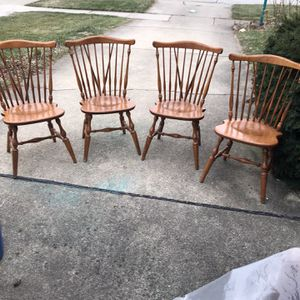 Set Of Four Chairs. for Sale in Des Plaines, IL