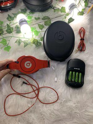 Red Beats Studio Headphones for sale! for Sale in Westminster, CA