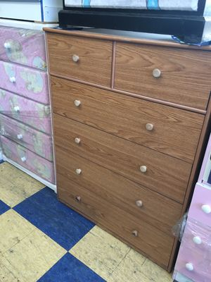 6 drawers chest dresser any colors jumbo 40W-20D-50H for Sale in Long Beach, CA