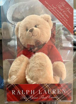 Ralph Lauren teddy bear for Sale in West Covina, CA