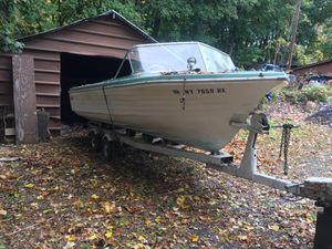 Boat with trailer good tires for Sale in Kingston, NY
