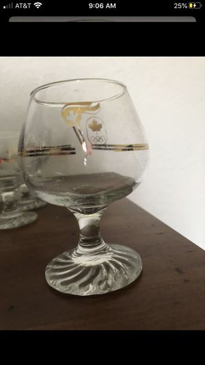 1988 Calgary Olympic Drinking Glasses for Sale in Fontana, CA