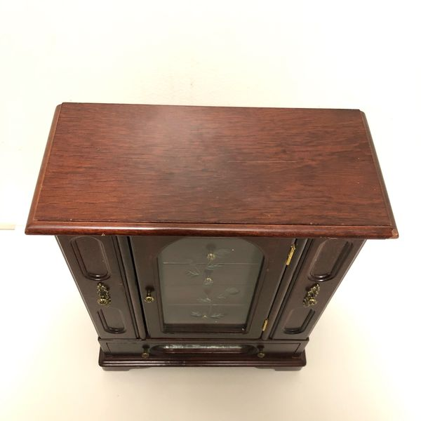 Jewelry Armoire Cabinet Space Chest