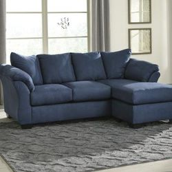 💵39 DOWN 💵 🌸Darcy Blue Sofa Chaise🌸 for Sale in Fort Worth,  TX