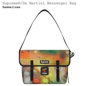 Supreme De Martini Rammellzee Messenger Bag for Sale in Brookfield, IL