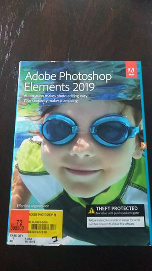Photoshop Elements 2019 for Sale in Manchester, PA