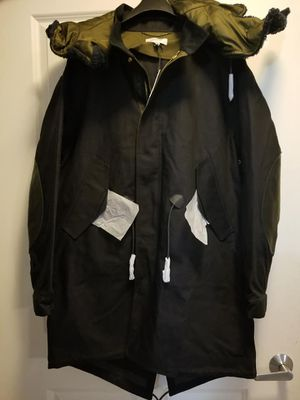 Removable Hood Parka - Coach NEW w| tags!! Selling for $300. Size 48 & Size 50! for Sale in Cambridge, MA