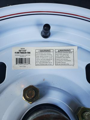 Trailer tires for Sale in Hillcrest Heights, MD