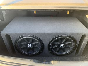 """Two Kicker 12"""" Speakers for Sale in Upland, CA"""