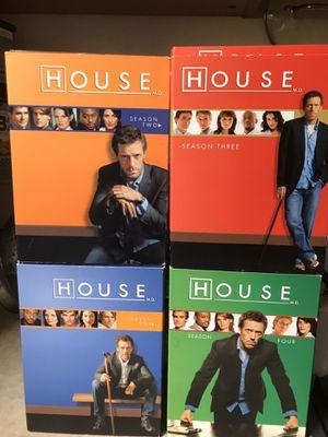House MD Season 1-4 DVD for Sale in Artesia, CA