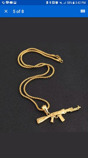 Whole sale Gold Pendent necklace Chain for Sale in North Little Rock, AR