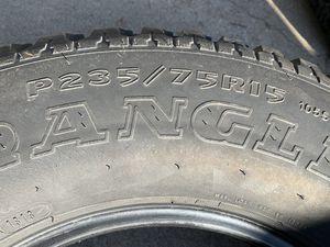 P235/75-15 Goodyear Wrangler $60 for Sale in Galt, CA