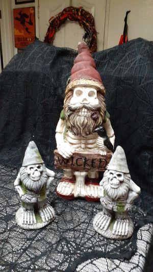 Halloween decor figures for Sale in Hemet, CA