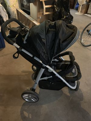 Graco Fastaction Fold Jogger Click Connect Baby Travel System, Gotham for Sale in Evanston, IL