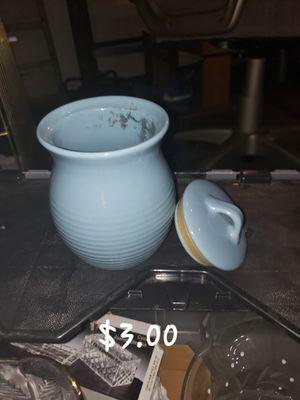 Glass honey jar for Sale in Pomona, CA