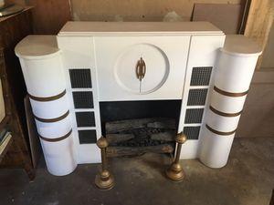 Streamline Art Deco faux fireplace for Sale in Oakland, NJ