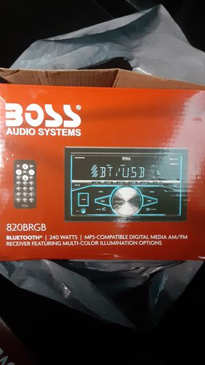 boss bluetooth for Sale in Quinby, SC