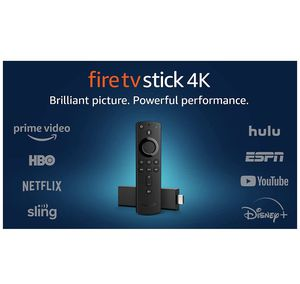 Fire TV Stick 4K streaming device with Alexa built in, Dolby Vision, includes Alexa Voice Remote, latest release for Sale in Los Angeles, CA