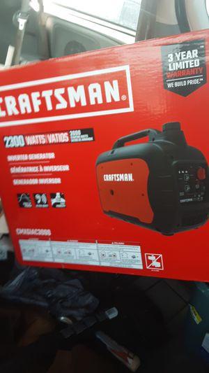 Craftsman 2300 watt inverter generator brand new in the box for Sale in Tulalip, WA
