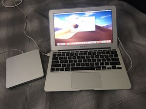 MacBook Air 2013 laptop with cd drive for Sale in Saint Petersburg, FL