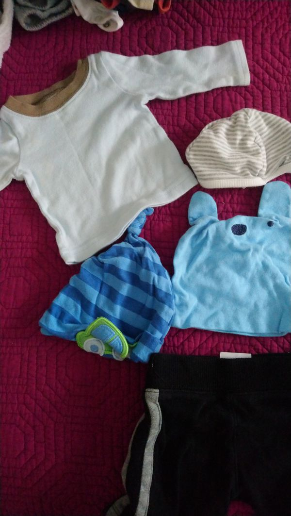 Newborn baby boy clothes 0-3 months lot