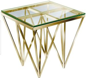BRAND NEW Gold End Side Table Accent Coffee for Sale in Miramar, FL