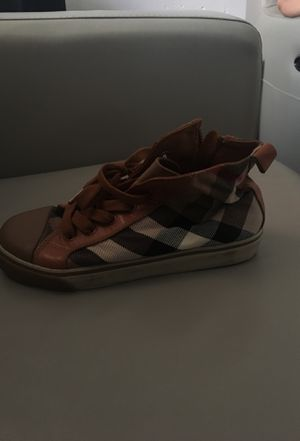 Burberry sneakers size 34 for Sale in Bronx, NY