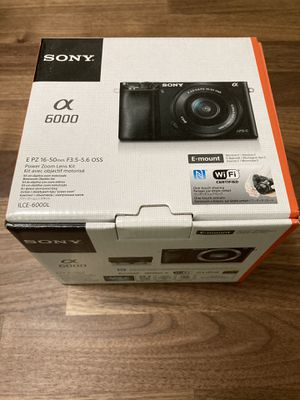 Sony a6000 Camera New for Sale in Montclair, CA