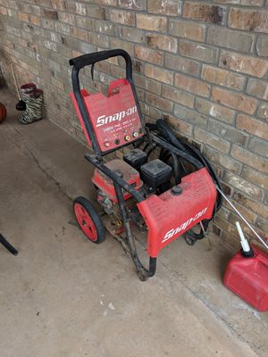 Snap-on pressure washer for Sale in Midland, TX