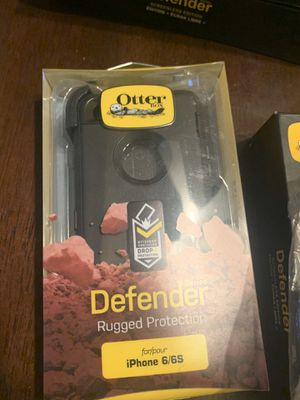 Apple iPhone 6 iPhone 6S Otter Box Defender Phone Case for Sale in Mesa, AZ