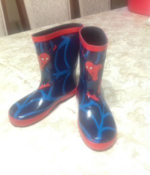 Kids Spider-Man Rain Boots for Sale in North Las Vegas, NV