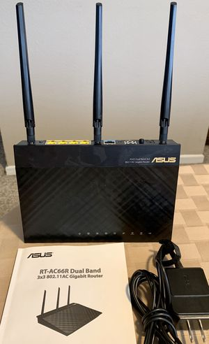 Asus RT-AC66R Dual Band Gigabit Router for Sale in Brea, CA