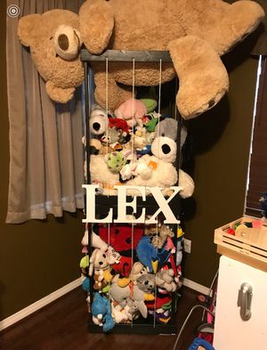 Zoo Cage For Stuffed Animals For Sale In