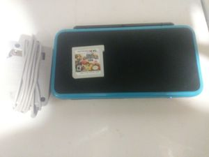 Nintendo 2ds XL with Charger and Super Smash Bros for Sale in Columbus, OH