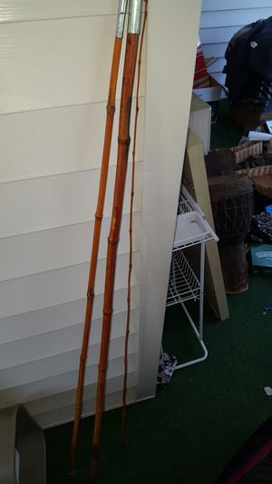 Vintage 15' bamboo fishing pole! for Sale in Greensboro, NC