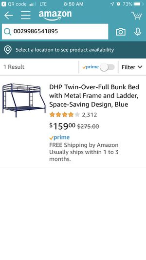 Twin over full bunk bed for Sale in Murfreesboro, TN