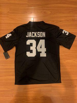Bo Jackson Oakland Los Angeles Las Vegas Raiders NFL Football Jersey for Sale in La Puente, CA