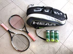 "2 Head Speed S 27"" Racquets/Bag Lot for Sale in Scottsdale, AZ"