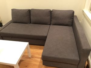 Ikea sectional pull out couch for Sale in San Francisco, CA