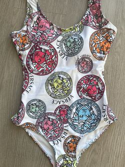 White Medusa Head One Piece Swimsuit for Sale in Montebello,  CA