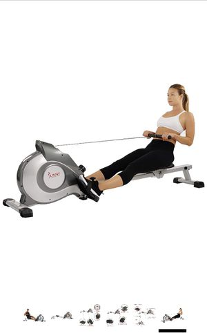 Rowing Machine Sunny Health SF-RW5515 Magnetic Rowing Machine Rower w/LCD Monitor (New in box) for Sale in Hilliard, OH