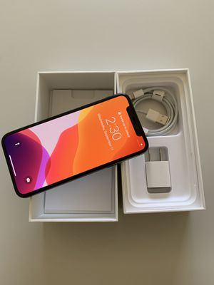 iPhone X, 256 gb (Unlocked) for Sale in Anaheim, CA