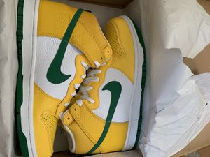 """NIKE DUNK HIGH """"REVERSE BRAZIL"""" for Sale in Milpitas, CA"""
