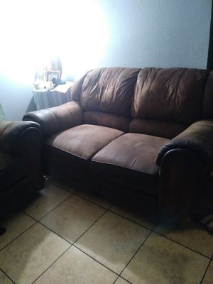 Selling 2 home reclining sofa couch for Sale in San Diego, CA