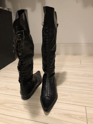 Italian Leather boots for Sale in Miami, FL